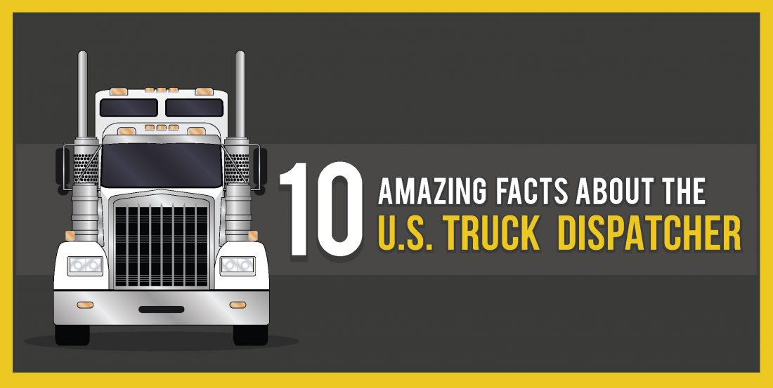 INFOGRAPHIC: 10 Amazing Facts About the U.S. Truck Dispatcher Cover Image