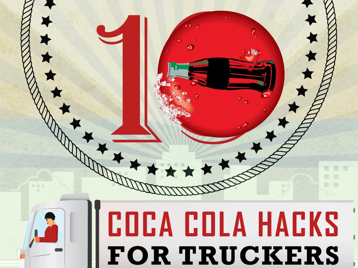 INFOGRAPHIC: 10 Coca-Cola Hacks For Truckers