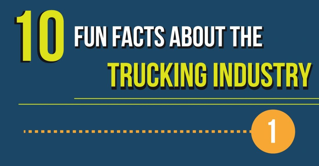 INFOGRAPHIC: 10 Fun Facts About the Trucking Industry Cover Image