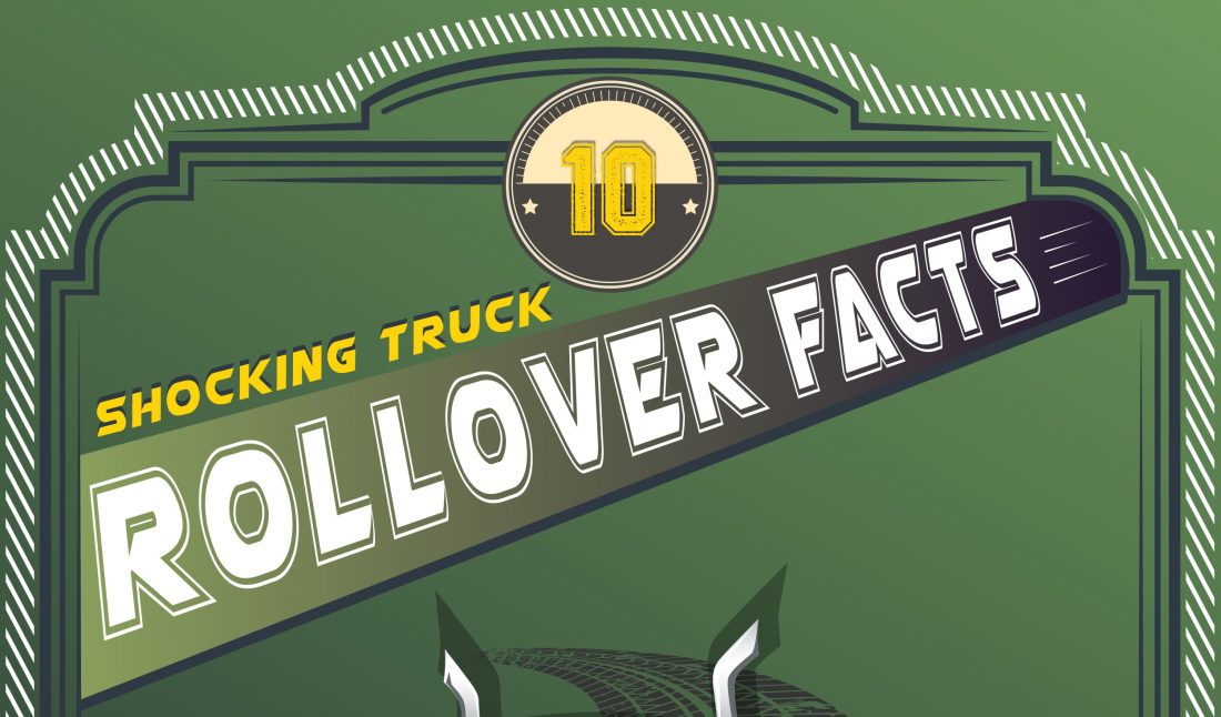 INFOGRAPHIC: 10 Shocking Truck Rollover Facts Cover Image