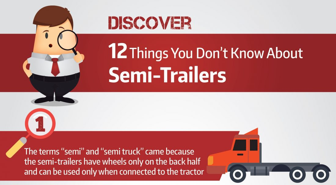 INFOGRAPHIC: Discover 12 Things You Don't Know About Semi Trailers Cover Image