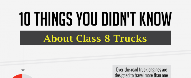 INFOGRAPHIC: 10 Things You Didn't Know About Class 8 Trucks