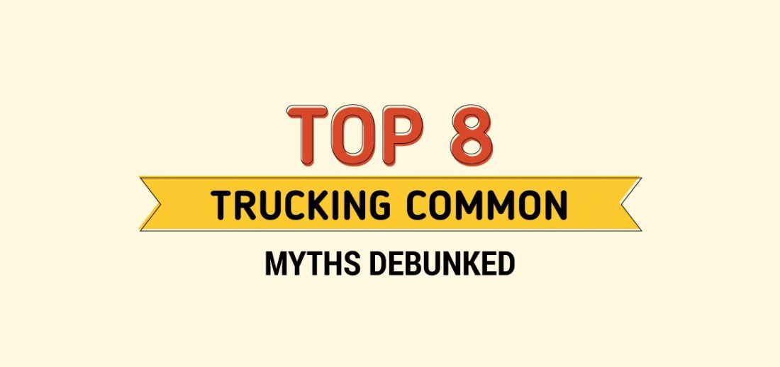 INFOGRAPHIC: Top 8 Trucking Common Myths Debunked Cover Image